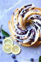 So delish! // Blueberry Lemon Bundt Cake #bundtcake