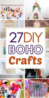 27 DIY Dollar Store Boho Craft Ideas #decordiy