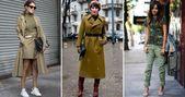 Militärischer Stil – 46 Fotomodefotos für jeden Tag