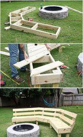 29 DIY Outdoor Furniture Projects Beautify Your Outdoor Space #diyoutdoorp …  – Online