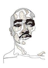 Monroe Tattoo  Iconic Celebrities SINGLE Leinwand Wand Kunst Bild drucken