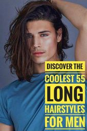 55 Coolste Lange Frisuren für Männer #Langhaar #Langhaarfrisur #Langhaarfrisuren #Langhaarschnitt #Langhaar