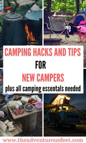 Bästa campingtips för nybörjare: Saker att ta camping