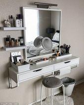 39+ Trendy Makeup Vanity Aesthetic
