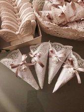 Inspiración de conitos para boda :)