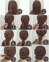 Trendy Idea Cut & Hairstyle Woman 2017/2018: Simple Tutorials for …