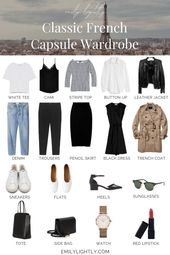 The Classic French Capsule Wardrobe