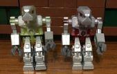 Lego ROBOTER DEVASTATOR Exo-Force 2 Minifigur Trans Roter Torso & Trans Grüner Torso …   – Lego Minifigures