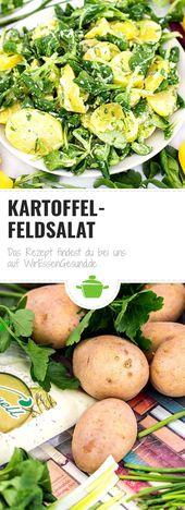 Kartoffel-Feldsalat – Essen