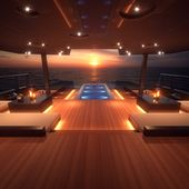 CHIRUNDOS Yacht (1016) by McMullen & Wing