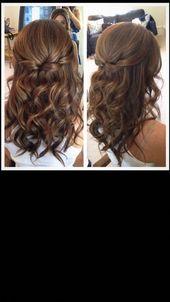 Hochzeitsfrisuren braune Haare # Hochzeitsfrisuren – Hochzeitsfrisuren – #Brown …   – wedding hairstyles