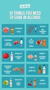 10 Dinge, die Sie brauchen, um Alkohol zu sich zu nehmen, die keine Gummibärchen sind – Süßigkeiten
