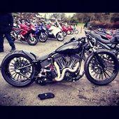 Benutzerdefinierte Harley   Bobber Inspiration – Bobbers und Custom Motorräder August 2014   – Bobbers