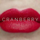 (Commercial) Retired LipSense Cranberry Lipstick FULL SIZE Sealed Genuine U…