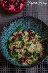 Weltbestes Baba Ganoush – Auberginenpüree zum Verlieben