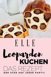 Leoparden-Torte: Das Rezept für die Torte mit dem wilden Touch   – Nikko Stehr  – Best DIY