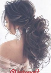 20 Best Long Wedding & Prom Hairstyles from Nadi Gerber   [tps_header] Voluminous wedding updos for long hair are very popular, beautiful and creative...