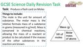 GCSE Science Daily Revision Task 207