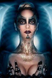 Futuristisches Make-up.   – Beautiful Alien