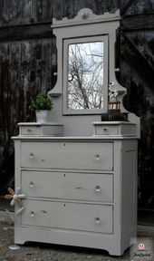 Antique Grey Dresser With Mirror For Sale Shabby Chic Dresser Grey Dresser Dresser With Mirror