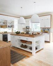 25+ Kitchen Island Ideas with Seating & Storage