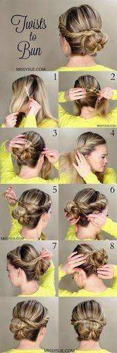 Check out our collection of easy hairstyles step by step diy. You will get hairstyles step by...
