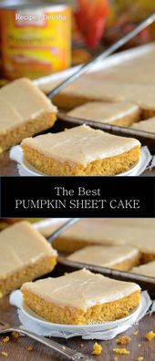 ★★★★★ 992 Rezensionen: Rezept Delisha ==> PUMPKIN SHEET CAKE #PUMPKIN #SH …   – Recipes