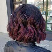 23 Trendy Hair Red Balayage Bob Haarschnitte #haar #schönrothaar