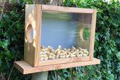 Bauanleitung Eichhörnchen Futterhaus – Futterkasten selber bauen ist gar nicht … – Selber Bauen