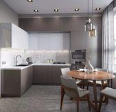 15 hervorragende Ideen für die Dekoration einer praktischen kleinen Küche