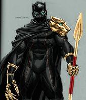 Black Panther T'Chala von RonAckins auf DeviantArt   – Black Panther