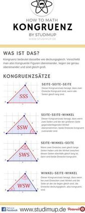 Kongruenz ist ein wichtiger Begriff in der Geometr…