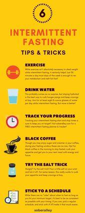 8 Tipps und Tricks zum intermittierenden Fasten für Anfänger