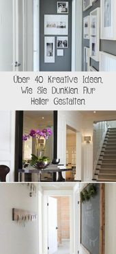 Über 40 Kreative Ideen, Wie Sie Dunklen Flur Heller Gestalten – DE