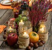 Herbstdeko aus Naturmaterialien selber machen: 33 tolle und ganz einfache Ideen