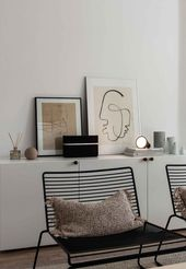 Home tour #stoelen Home tour – a calm, cosy apartm…