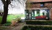 Renoviert # Landhaus # Fassade # Glas # Kasten # Tageslicht # Renoviert # Landhaus # Fassade …   – Home Decor & Walls