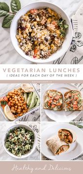 Wholesome Vegetarian Brown Bag Lunch Concepts from Monday by means of Friday