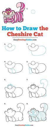 Wie zeichnet man die Cheshire Cat