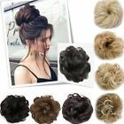Details zu 2019 Synthetic Curly Hair Extensions Haarteil Bun Updo Natürliche Haargummis #hairscrunchie 2019 Synthetic Curly Hair Extensions Haarteil ...