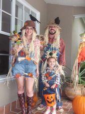 Make scarecrow costume yourself Costume idea for Carnival, Halloween & Fasc …  – Karneval