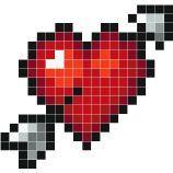 Cupid At Work Awsomeart Dessin Pixel Modele Dessin