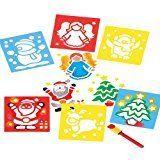 Weihnachten waschbar Schablonen für Kinder Natal DIY Dekorationen zu erstellen …