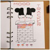 10 Mood Tracker für Ihr Bullet Journal   – DIY – Kalender basteln