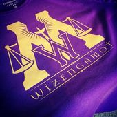Anniversary Knight Bus Wizengamot Shirt By Mistress Jennie Ministry Of Magic Craft Tutorials Crafty Projects