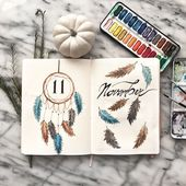 150+ Bullet Journal Monthly Cover Ideas [2020 New Edition] – AnjaHome