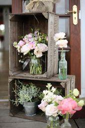 Vintage wedding – 120 charming decoration ideas! – Archzine.net