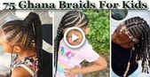 Most up-to-date Cost-Free 75 Lovely Ghana Braids Hairstyles for Kids #hairstyles…