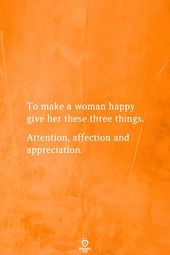 To Make A Lady Glad Give Her These Three Issues
