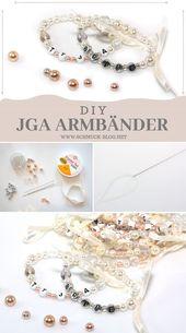 DIY JGA Armbänder selber basteln